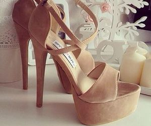 fashion, girly, and high heels image