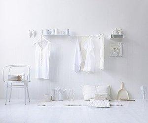 plain and white image