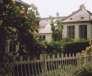 house, vintage, and garden image