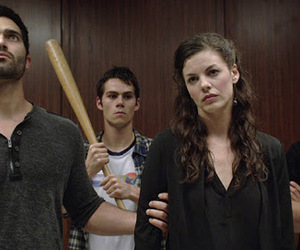 teen wolf, funny, and school image