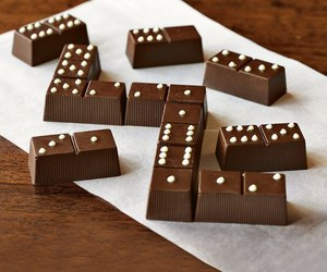 chocolate, domino, and food image