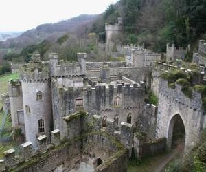 abandoned, ruinas, and castillo image