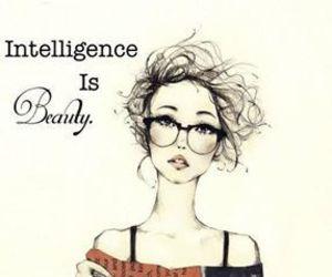 intelligence and beauty image