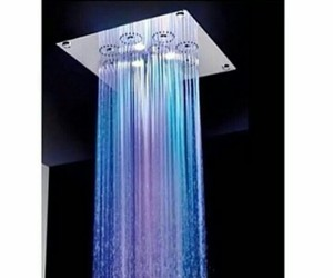 shower, colors, and water image