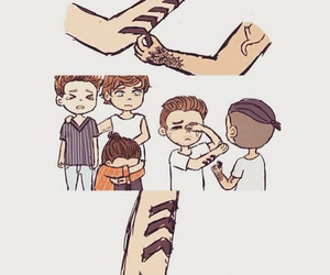 tattoo, liam payne, and one direction image