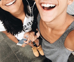 smile, couple, and cute image