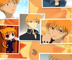 anime, cat, and kyo image