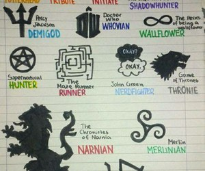 teen wolf, fandom, and harry potter image