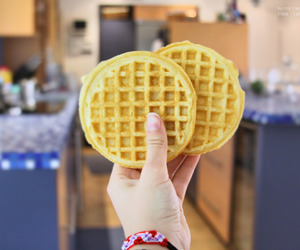 waffles, food, and quality image