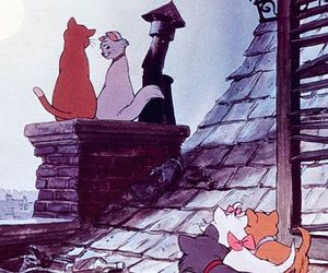 disney, cat, and aristocats image
