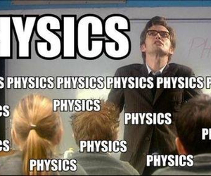 doctor who, david tennant, and physics image