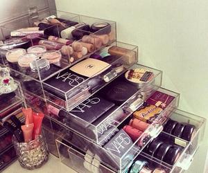 makeup, make up, and cosmetics image