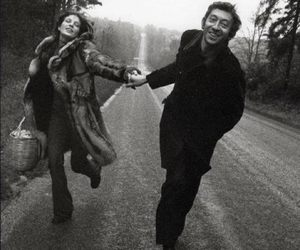 couple, love, and Gainsbourg image
