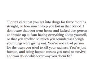 addiction, quote, and tumblr image