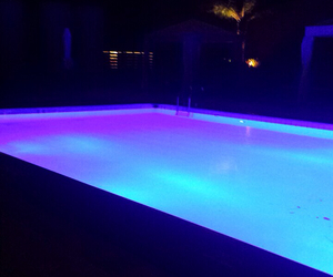Bleu, color, and night image