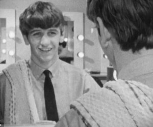 ringo starr, smile, and the beatles image