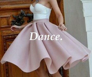 dance, dress, and girl image