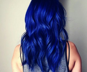 color hair, colorful hair, and perfect hair image