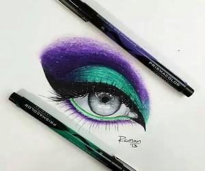 disegni, occhi, and trucco image