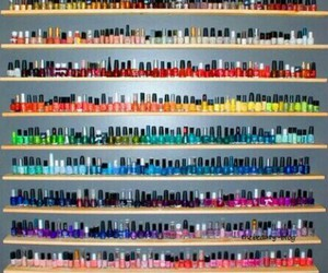 beautiful, nails, and color's image