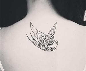 cool, girl, and tatoo image