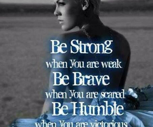 quotes, pink, and strong image