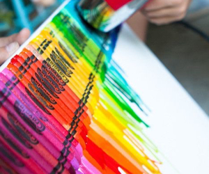 crayon, art, and colors image