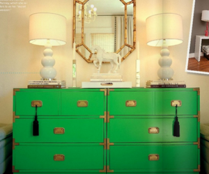 decorating, green, and interiors image