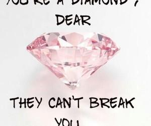 diamond, break, and quote image