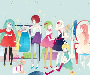 vocaloid, anime, and meiko image