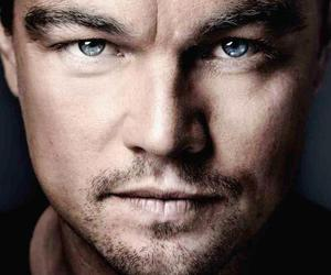 actor, blue eyes, and leonardo dicaprio image