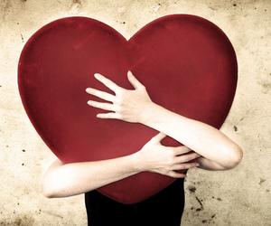 hug heart image