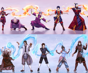 avatar, masters, and korra image