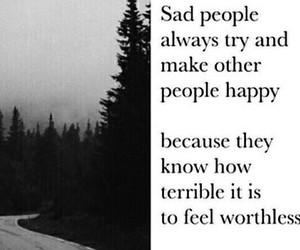 sad, people, and happy image