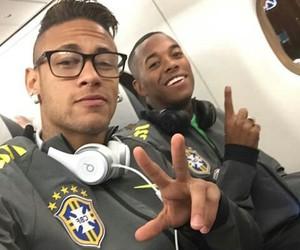 neymar, neymar jr, and robinho image