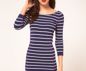 azul, blanco, and dresses image