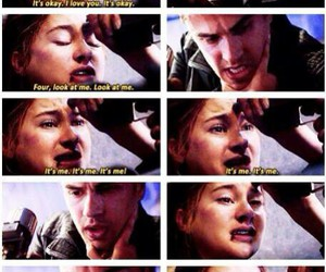 feels, four, and divergent image