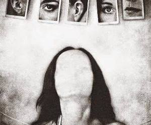 alone, faces, and reality image