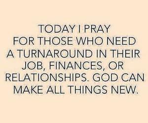 pray, faith, and god image