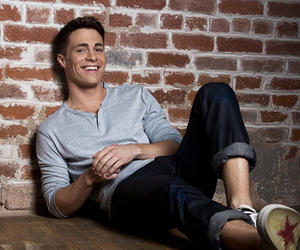 colton haynes, teen wolf, and arrow image