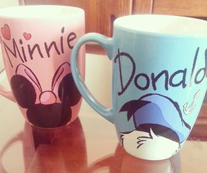 donald, disney, and minnie image
