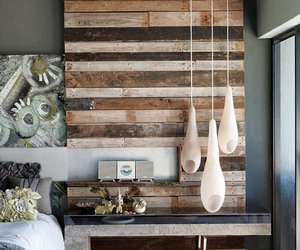 bedroom, rustic, and inspiring interiors image