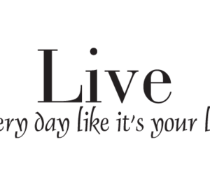 fun, live, and quote image