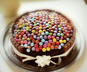 cake, eat, and m&m image
