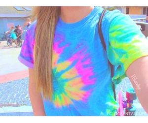 tumblr, colorful, and neon image