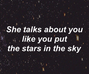 love, quotes, and stars image