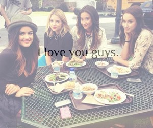 lucy hale, hanna marin, and best friends image