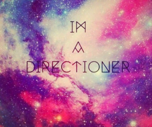 directioner, one direction, and galaxy image
