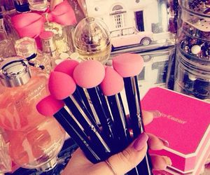 pink, fashion, and make up image