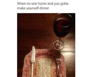 funny, dinner, and lol image